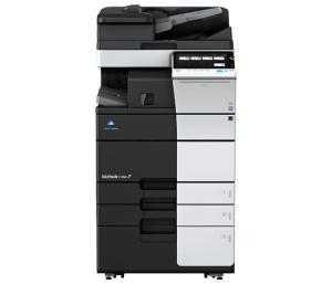 Austin Technology Group, Konica Minolta Bizhub C458 color printer, Austiin TX