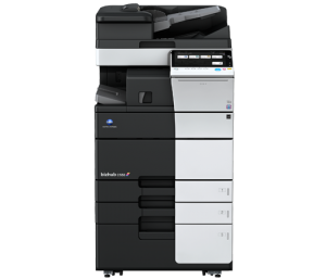 Performance, Productivity Konica Minolta C558 color printer, Austin TX, Austin Technology Group